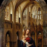 Ян ван Эйк. Мадонна в церкви