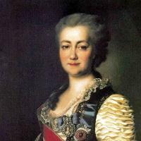 Дмитрий Григорьевич Левицкий. Портрет Екатерины Романовны Дашковой