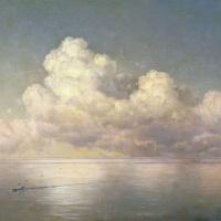 Иван Константинович Айвазовский. Облака над морем. Штиль