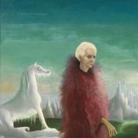 Leonora Carrington. A magnificent bird. Portrait of Max Ernst