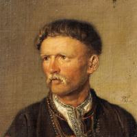 Пожилой украинский крестьянин (Устим Кармелюк?)