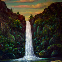 Наджаф Мамедали оглы Мамедов. Водопадь