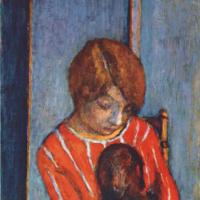 Пьер Боннар. Девушка с собакой