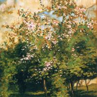 Чайльд Гассам. Цветущие деревья
