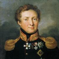 Василий Андреевич Тропинин. Портрет генерала А. И. Горчакова
