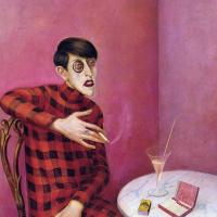 Портрет журналистки Сильвии фон Харден