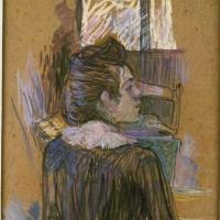 Анри де Тулуз-Лотрек. Дама у окна
