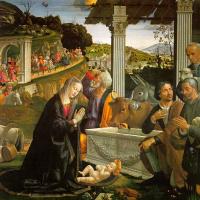 Доменико Гирландайо. Поклонение пастухов