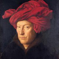 Портрет мужчины в красном тюрбане (Автопортрет?)