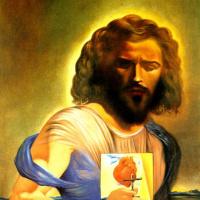 Сальвадор Дали. Священное сердце Иисуса