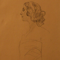 Valentin Aleksandrovich Serov. Portrait Of A. P. Pavlova