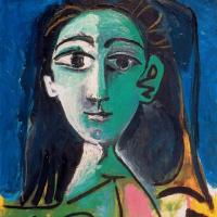A young woman (Portrait of Jacqueline)