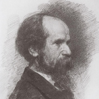 Валентин Александрович Серов. Портрет Чистякова