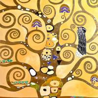 Густав Климт. Стоклед фриз. Древо. (фрагмент)