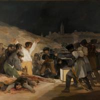 Франсиско Гойя. Расстрел повстанцев 3 мая 1808 года в Мадриде