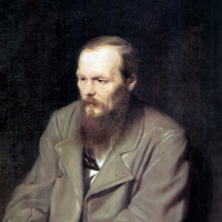 Василий Григорьевич Перов. Портрет писателя Федора Михаиловича Достоевского