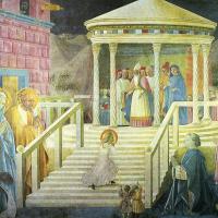 Паоло Уччелло. Введение Марии во храм