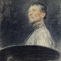 Илья Ефимович Репин. Портрет художника А.Е. Архипова