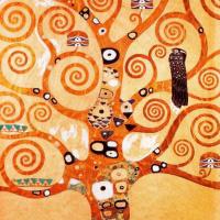 Густав Климт. Древо жизни (фрагмент для фриза дворца Стоклед)
