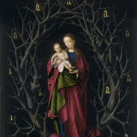 Petrus Christus. The Virgin of the dry Tree