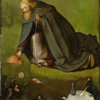 Hieronymus Bosch. The Temptation Of St. Anthony