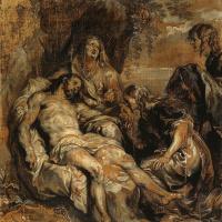 Антонис ван Дейк. Оплакивание Христа
