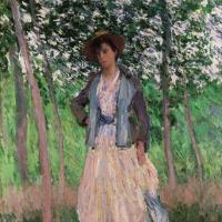 Прогуливающаяся (Сюзанна Ошеде)