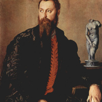 Аньоло Бронзино. Портрет неизвестного аристократа