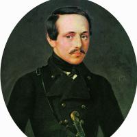 Портрет поэта М.Ю.Лермонтова. Не ранее 1842