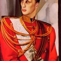Тамара Лемпицка. Портрет великого князя Гавриила