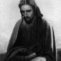 Христос в пустыне (первый вариант картины)