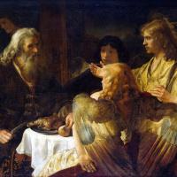 Рембрандт Харменс ван Рейн. Авраам и три ангела