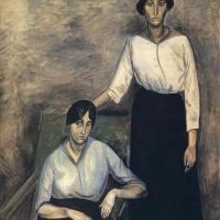 Андре Дерен. Две сестры