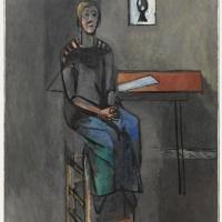 Henri Matisse. Woman on a high stool