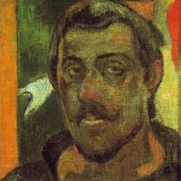 Paul Gauguin. Self-portrait