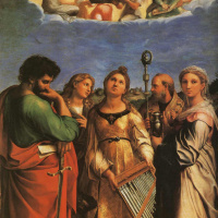 Рафаэль Санти. Экстаз Святой Цецилии