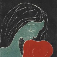 Эдвард Мунк. Девушка с сердцем