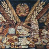 Илья Иванович Машков. Советские хлебы
