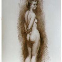 Nude model (twist)
