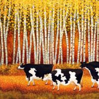 Лоуэлл Эрреро. Осенние коровы