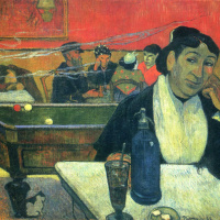 Paul Gauguin. Night Café at Arles