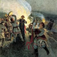 Клавдий Васильевич Лебедев. Ночь на Ивана-Купалу