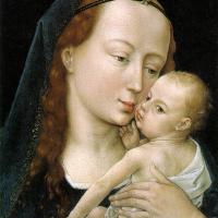 Рогир ван дер Вейден. Богоматерь с младенцем