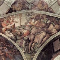 Микеланджело Буонарроти. Медный змий