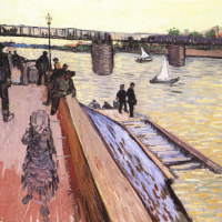Vincent van Gogh. Bridge Truncata