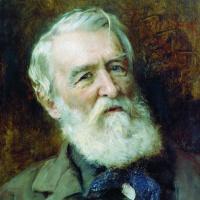 Портрет писателя Д.В. Григоровича