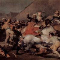 Франсиско Гойя. Стычка с мамелюками 2 мая 1808 года в Мадриде