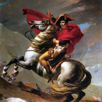 Наполеон на перевале Сен-Бернар I