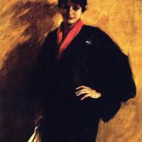 Уильям Меррит Чейз. Синее кимоно