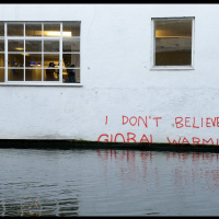 I do not believe in global warming